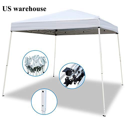 Teekland 10x10ft Pop-Up Canopy Tent,Portable Pop up Shade Tent, Instant Canopy Tent,Outdoor Portable Gazebo,Waterproof Folding Pop up Canopy with Carrying Bag