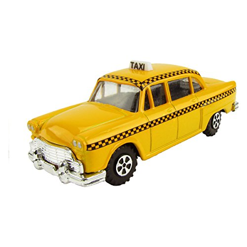 Miniature NYC Checker Taxi Cab Die Cast Pencil Sharpener (Nyc Souvenirs Pencils)