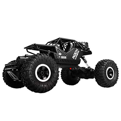 DDLmax Remote Control Car, 1/16 Four-Wheel Drive Alloy Off-Road Remote-Controlled Climbing Car LH-C008S by DDLmax (Image #1)
