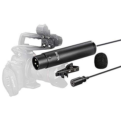 Good Mic BOYA-D - Micrófono de Condensador estéreo para cámara ...