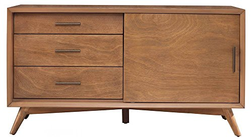 Alpine Furniture Flynn Mid Century Modern TV Console, 50