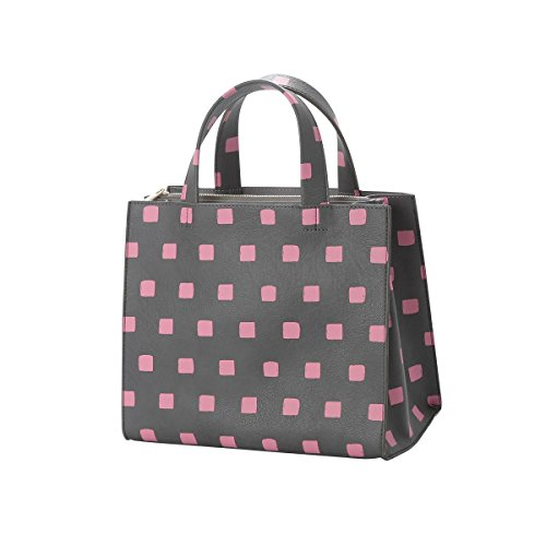 Srl Bolso Pink And Gris Milan Distributed Japan Para Asas A By M Chamomile Gray Billion De Mujer De Poliéster q0YxwY