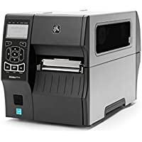 Zebra Technologies ZT41042-T110000Z Series ZT410 4 DT/TT Tabletop Printer, 203 dpi Resolution, Tear Bar, Power Cord with US Plug, USB 2.0/RS-232 Serial/10/100 Ethernet, Bluetooth 2.1, EZPL, Peel
