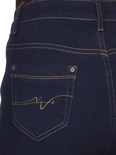 Indaco Denim con lunghezza alta ICE vita Blu 54 Jeans cm 79 44 P56wxqc7