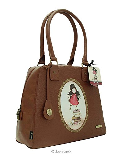 Bag Rococo Large Pockets Lined New With Gorjuss Heights Internal Handbag Embossed Santoro 36x28x14cm ItSY1nqf