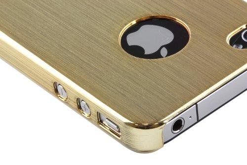 Pro-Tec Xpression Metallic Case / Schutzhülle in Metallic Optik für iPhone 4 - Gold
