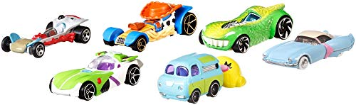 Toy Story Hot Wheels 4 Character Cars Assortment