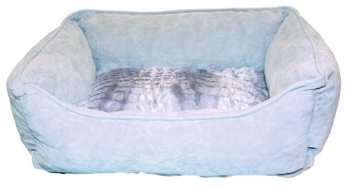 Dogit Style Cuddle Bed, Wild Animal, Gray X-Small