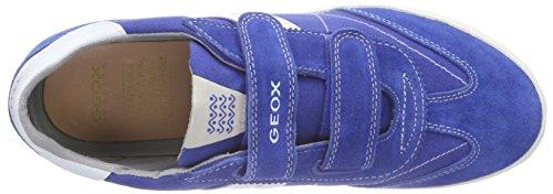 Geox Kiwi M, Zapatillas para Niños Blau (Royal/off Whitec4304)