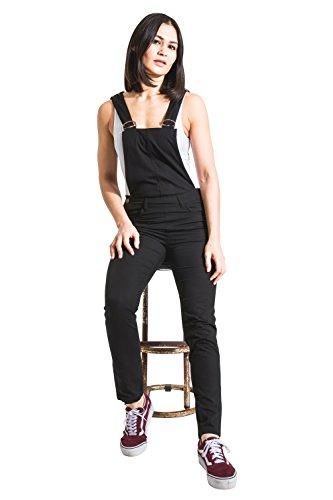 Uskees 46 Slim Eu Bib 34 Mujer overalls Negro Cocoblk Corte Peto rrz7Ag
