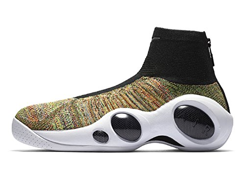 Nike Flight Bonafide - Jason Kidd (11, White/multi) (Nike Zoom Flight Basketball Shoes)