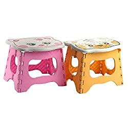 Children Cute Cartoon Animal Plastic Folding Stool for Kids Adults Portable Super Strong Lightweight Step ...  sc 1 st  Hardware-Store-Online.com & Heavy duty wood step stool for beds islam-shia.org