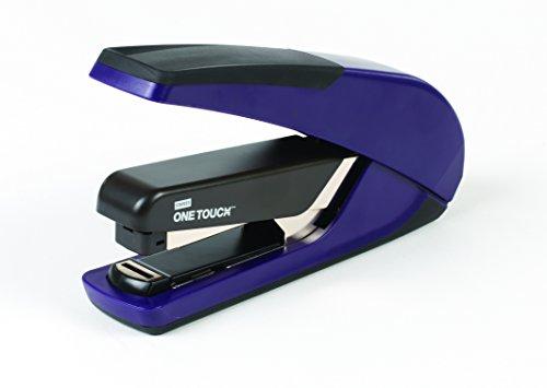 Stapler Flat Stack - Staples One-Touch Plus Desktop Flat Stack Full Strip Stapler, 30 Sheet Capacity, Purple