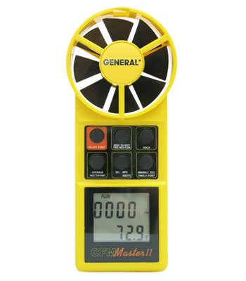 General Tools DCFM8906 CFM Thermoanemometer