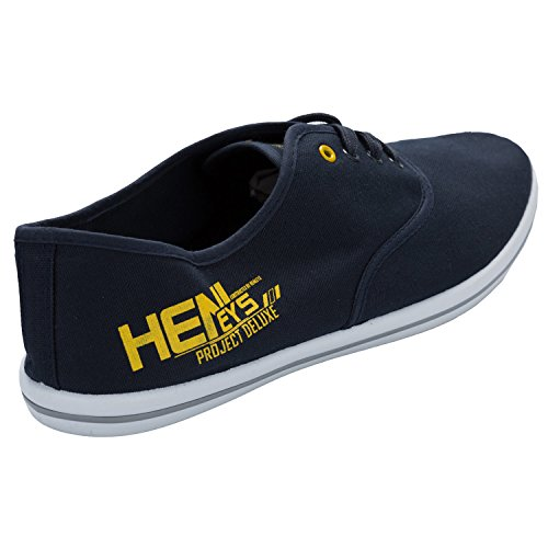 Yellow Foundation KRMSL373 azul Quiksilver Navy amarillo marino Shoes Men's Canvas UOIUxwqz5