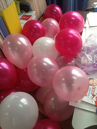 IyGnaw Latex Balloons Thickening Pink White red Rose 72 pcs//lot 12 Balloons 2.8g Party Decoration