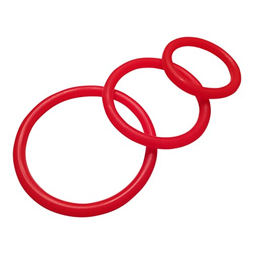 penile-cock-ring-silicone-male-erection-enhancement-stay-hard-set-of-3-cockrings-red-discreet-packag