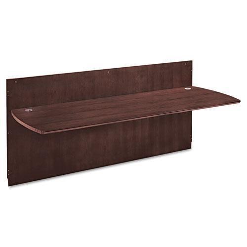 Mayline Napoli Series Wood Veneer Reception Desk Top, 87¼w x 37¼d, Mahogany-- by BND 760771797348 NRDTMAH