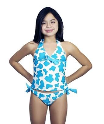Amazon.com: Winki Girls Swimsuit Two Piece Set beachwear