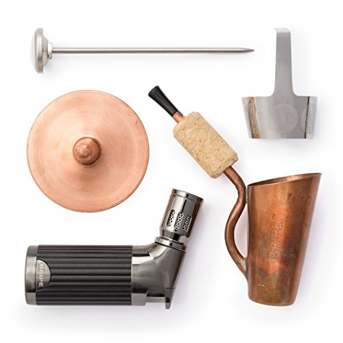 - BRIPE- Coffee Brew Pipe Kit, Portable Outdoor Coffee Maker, Torch Lighter Included, make coffee without a kettle!