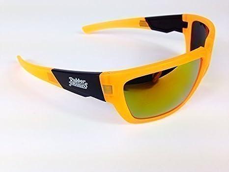 Occhiali da sole sportivi da GOMMA Johnnies COOL Tonalità da CLUB OCCHIALI DA FESTA - Arancione neon M2rhk253EX