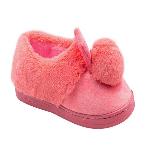 Enfants Doux Pantoufles d'int Chaleureux Animaux 3D Lapin rBqnH5rw