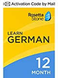 Rosetta Stone: Learn German for 12 months on iOS, Android, PC, and Mac - mobile & online access
