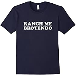 Men's Ranch Me Brotendo T-Shirt Large Navy