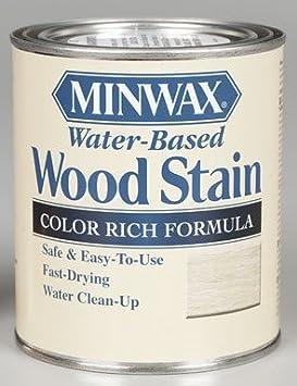 Minwax 61806 1 cuarto de galón, base de tinte blanco, manchas ...