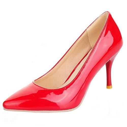 Formal Melady Femmes Mode Red Escarpins Extra Tailles zEqS7E