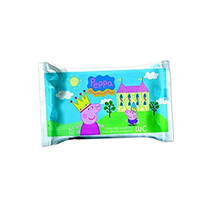 Toallitas Wc Junior 60Uds Peppa Pig