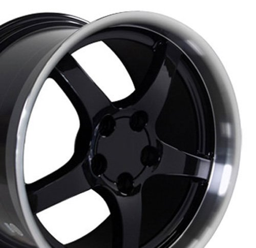 93 camaro rims black - 6