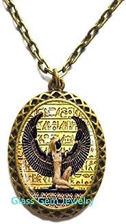 Egyptian Pendant, Ancient Egypt Jewelry, Egypt Necklace, Egyptian Jewelry,Q0071