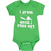 Baby Boy Gifts by Fayfaire Boutique | Funny I Drink Until I Pass Out NB-6M