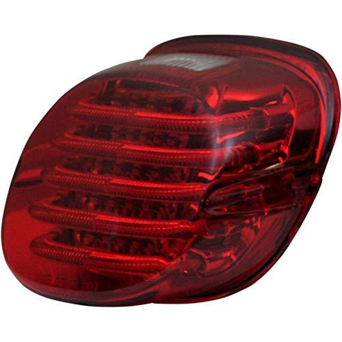 (Custom Dynamics ProBEAM Low Profile LED Taillight w/Window, Red PB-TL-LPW-R)