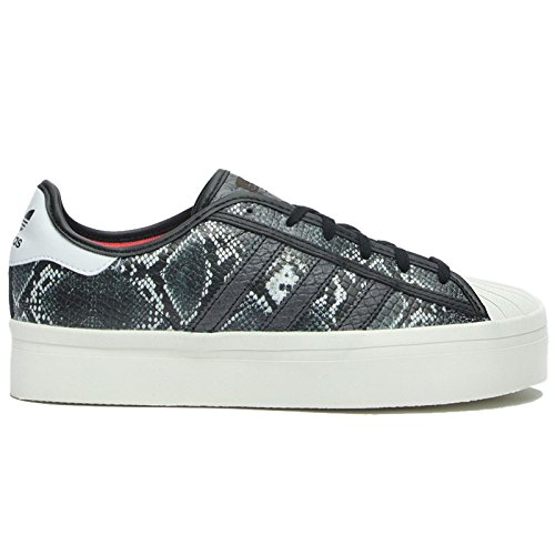 Adidas Womens Superstar Rize Snake print Snake Leather Trainers 9 US