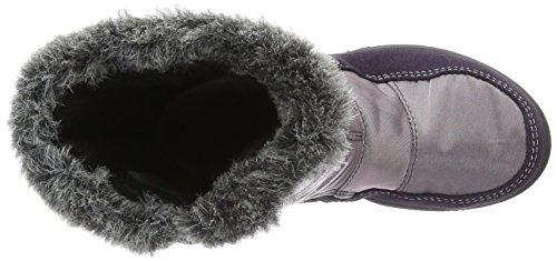 Mi 382 Ricosta Fille hauteur purple Violett blackberry Chaude Bottes Avec Doublure Violet Reni EEt7nq0r6