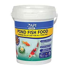 Api pond fish food 4mm pellet pet for Amazon fish ponds
