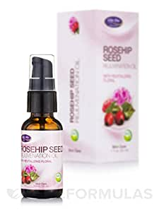 Rosehip Seed Oil Organic, Refreshing Floral Life Flo Health Products 1 oz Liquid