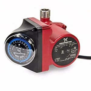 Grundfos hot water recirculating pump