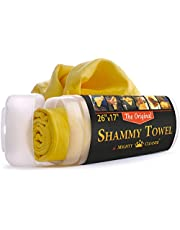 Mighty Cleaner Absorber Shammy Cloth Chamois Towel - Car Towel - Synthetic Chamois Leather Towel for Home - Car Cleaning Cloth - PVA Towel - Car Drying Towel - Best Shammy Cloth - Car Wash Cloth Large The Original