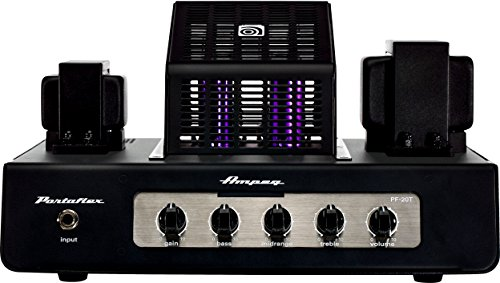 Ampeg Bass Amplifier Head, Black, 20-Watt Tube (PF-20T)