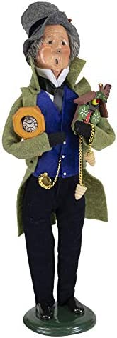 Byers Choice Clockmaker Caroler Figurine from The Specialty Characters Collection 406B