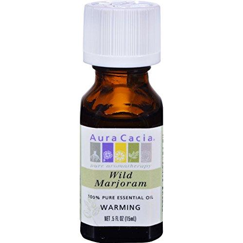 Aura Cacia Pure Essential Oil Wild Marjoram - 0.5 fl oz