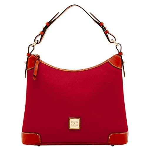 Dooney & Bourke Leather Hobo Bag - Dooney & Bourke Pebble Grain Hobo Shoulder Bag