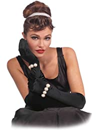 Vintage Hollywood Long Gloves with Pearls
