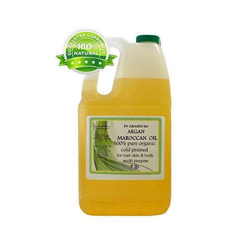 Argan Marrakesh Moroccan Pure & Organic You Pick Size (1 Gallon) by Dr Adorable