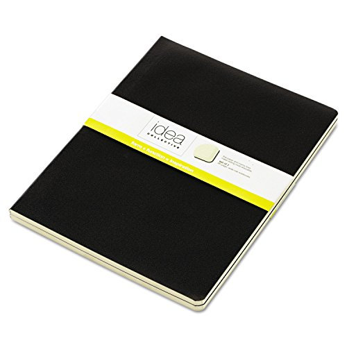 (Tops 56879 Idea Collective Journal, Soft Cover, Side Binding, 7 1/2 x 10, Black, 2/Pk)