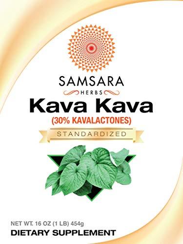 Samsara Herbs Kava Kava Root Extract Powder - 30% Kavalactones Extract (16oz/454g) by Samsara Herbs (Image #1)