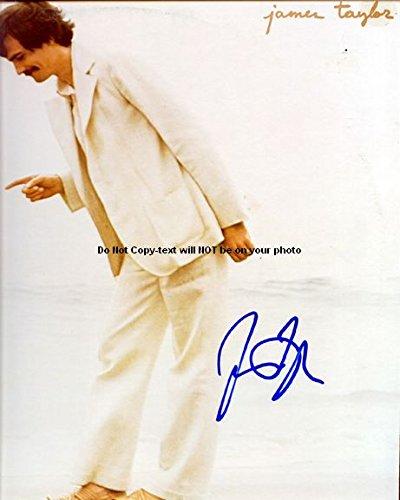 James Taylor Autographed Preprint Signed 11x14 Poster Photo - Memorabilia James Taylor